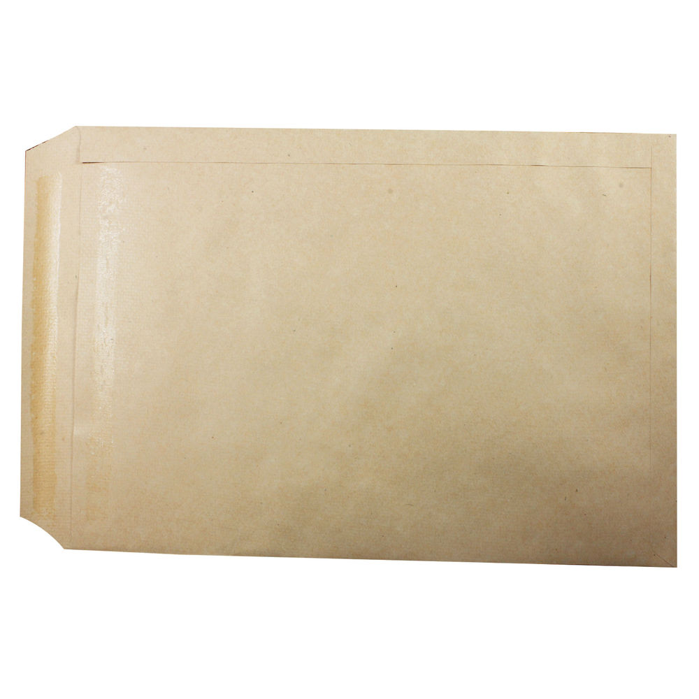 Q-Connect Manilla Self Seal C3 Envelopes 115gsm, Pack of 125 - 02505