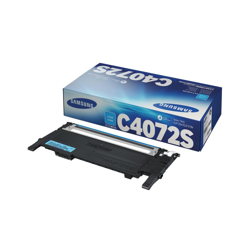 Samsung CLT-C4072S Cyan Toner Cartridge - ST994A
