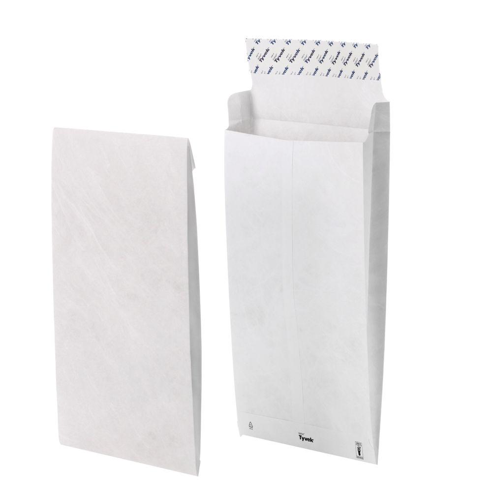 Tyvek B4 Envelope 353x250x38mm Gusset Peel and Seal White (Pack of 100) 11843