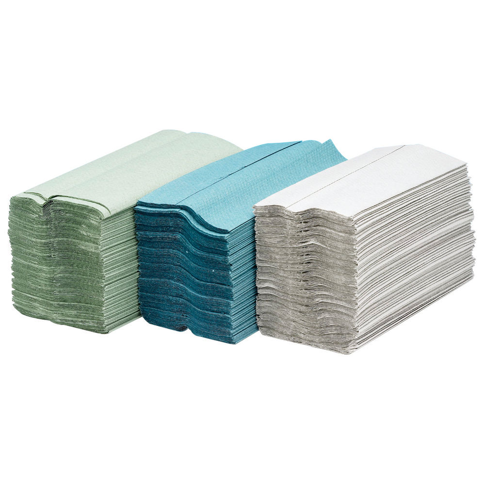 Maxima 2 Ply White C-Fold Paper Hand Towels (24 Packs of 100) - 1104061