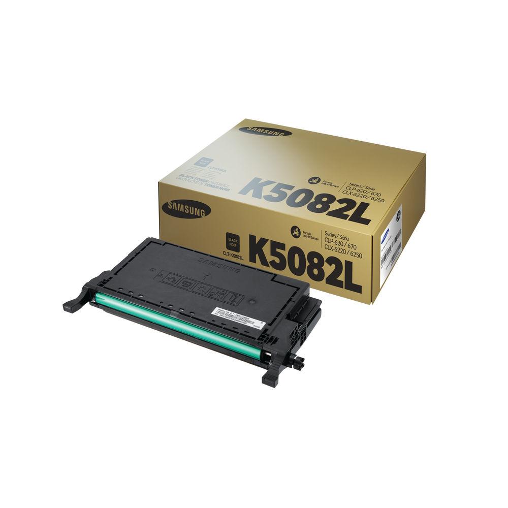Samsung K5082L Black Toner Cartridge - High Capacity CLT-K5082L/ELS