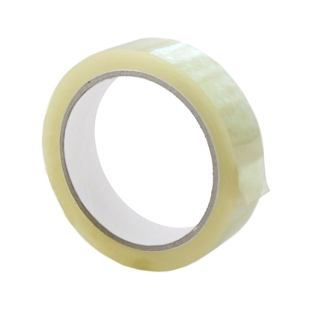 Q-Connect 19mm x 66m Polypropylene Tape, Pack of 8 - KF27016