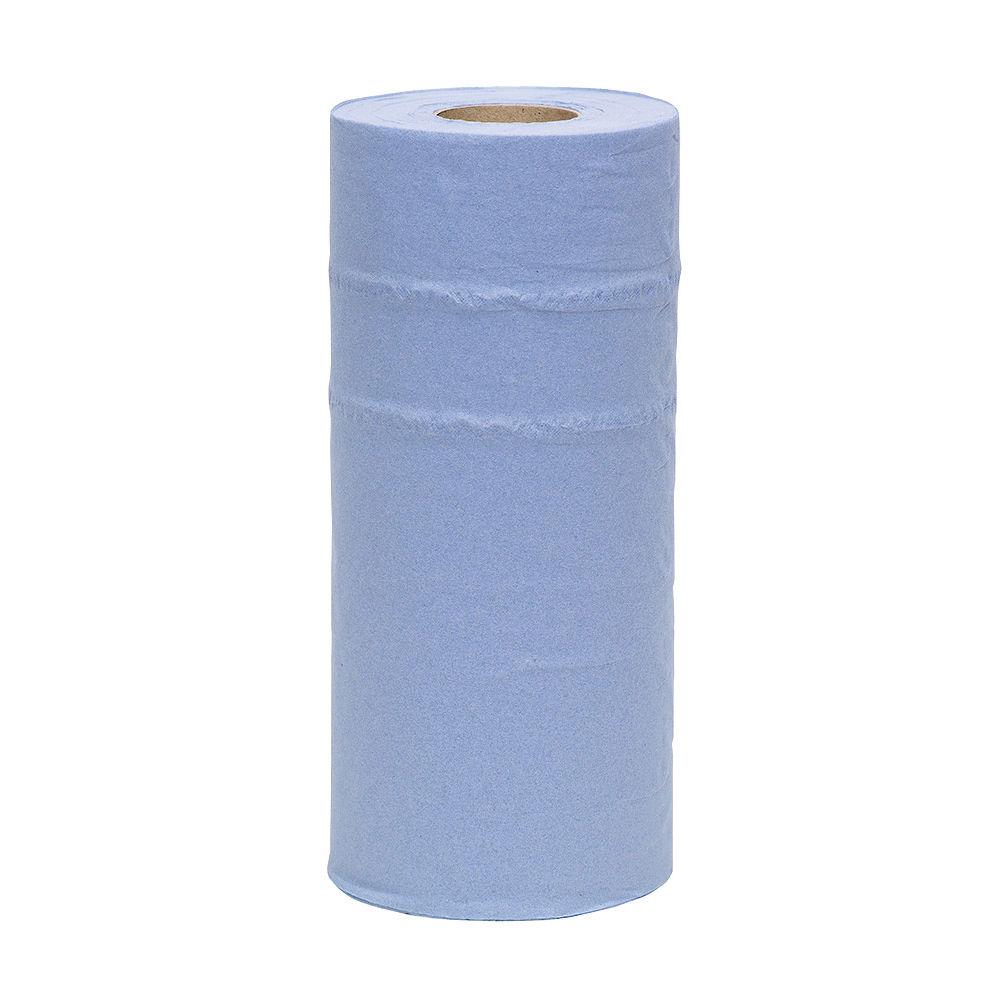 2Work 250mm x 40m Blue 2-Ply Hygiene Roll - CPD43579