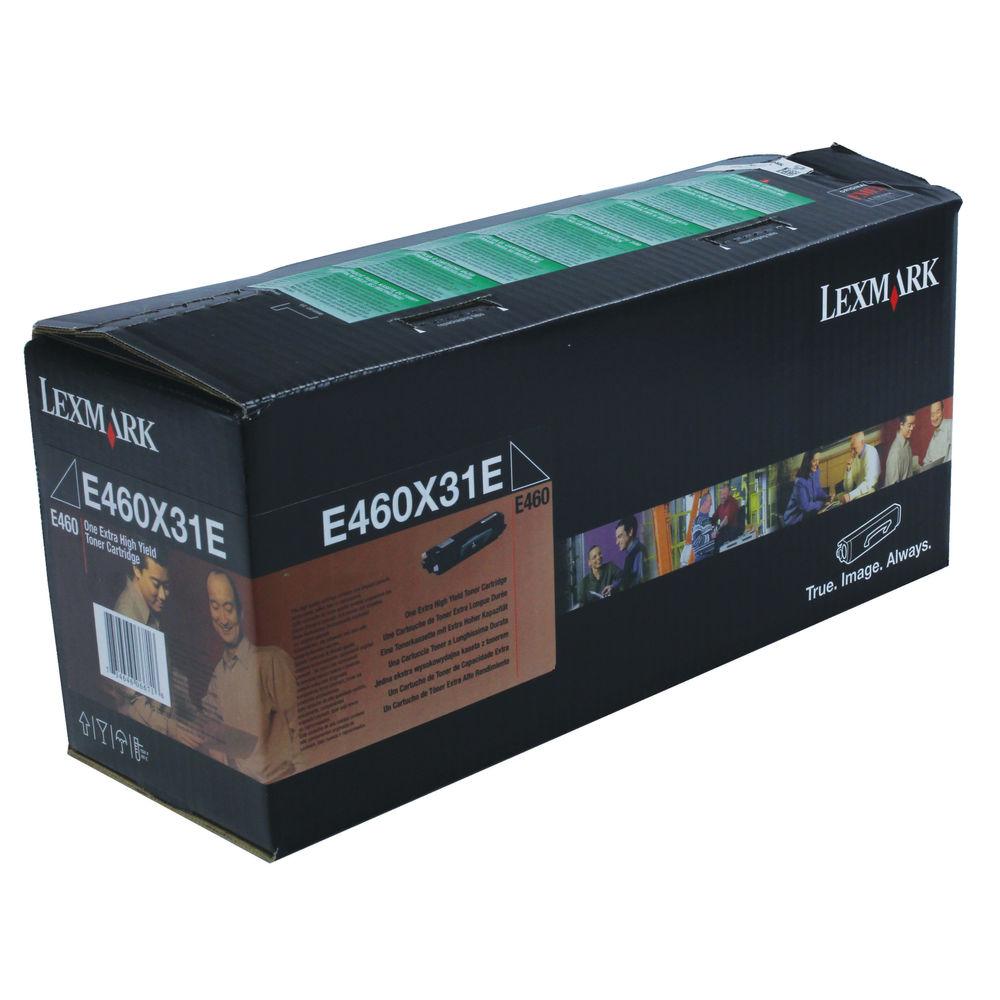 Lexmark Black High Yield Return Programme Toner Cartridge E460X31E