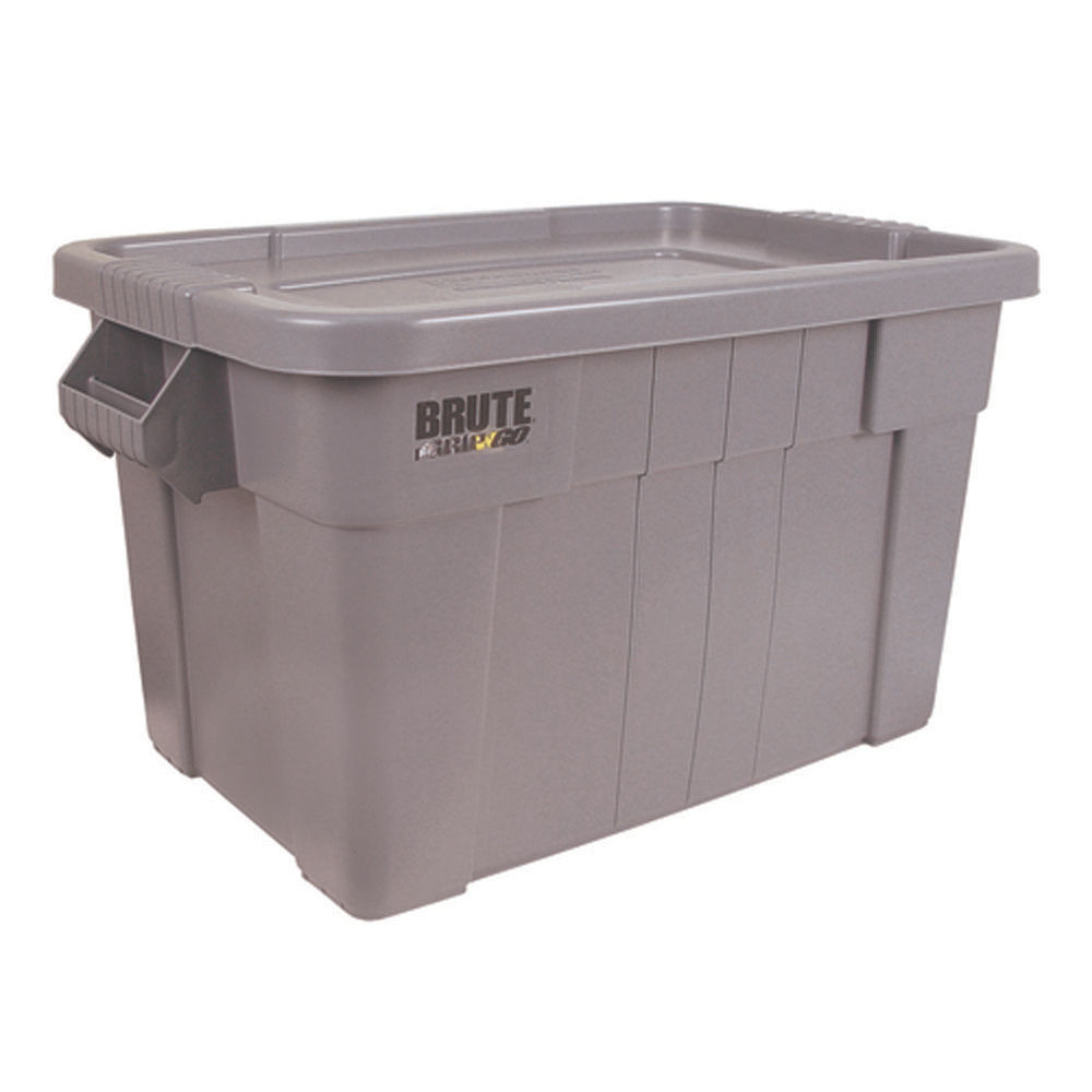 VFM 75 Litre Grey Brute Tote Box - 382216