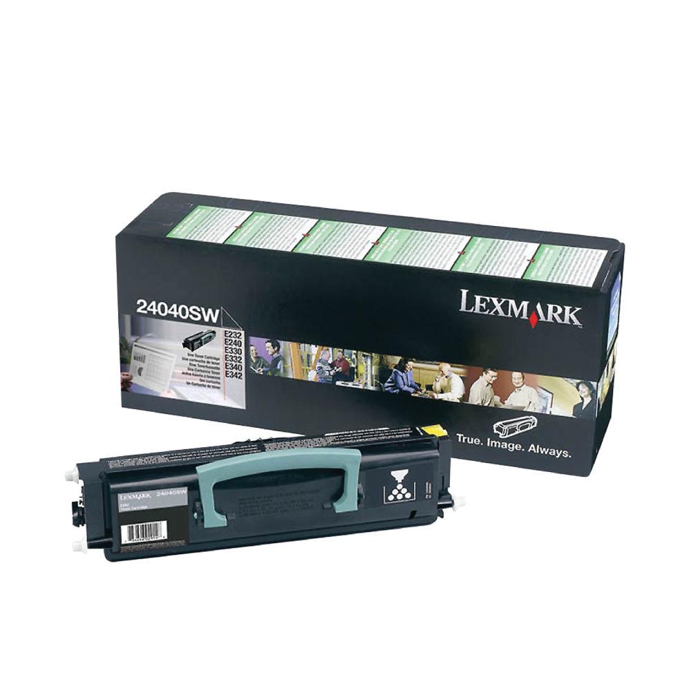 Lexmark 0024040SW Black Laser Toner Cartridge