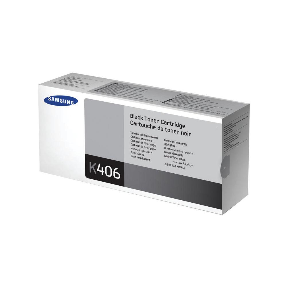 Samsung CLP360/365/CLX3300 Black Toner Cartridge - CLT-K406S/ELS