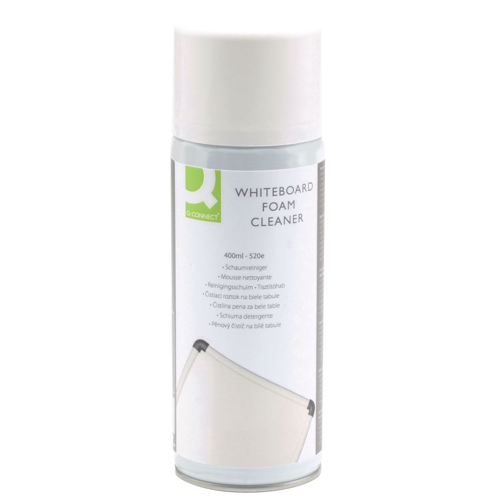 Q-Connect 400ml Whiteboard Surface Foam Cleaner - ST75766