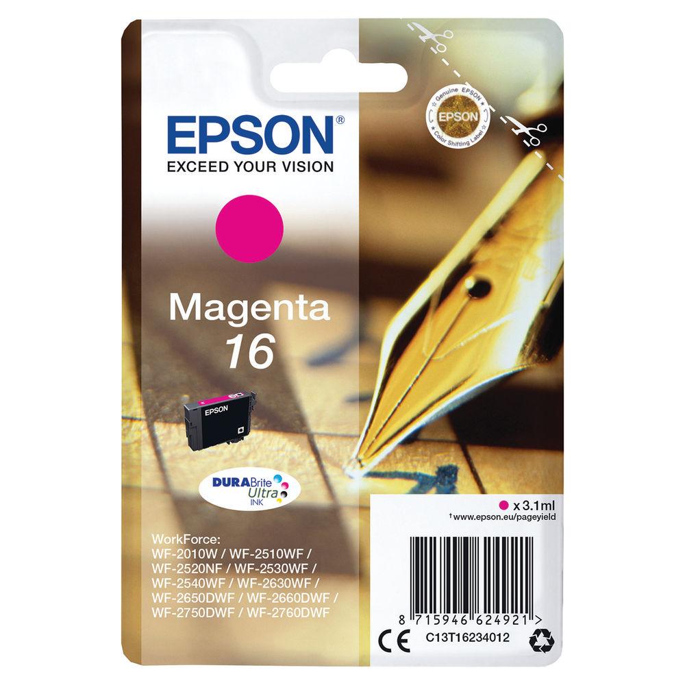 Epson 16 Magenta Ink Cartridge - C13T16234012