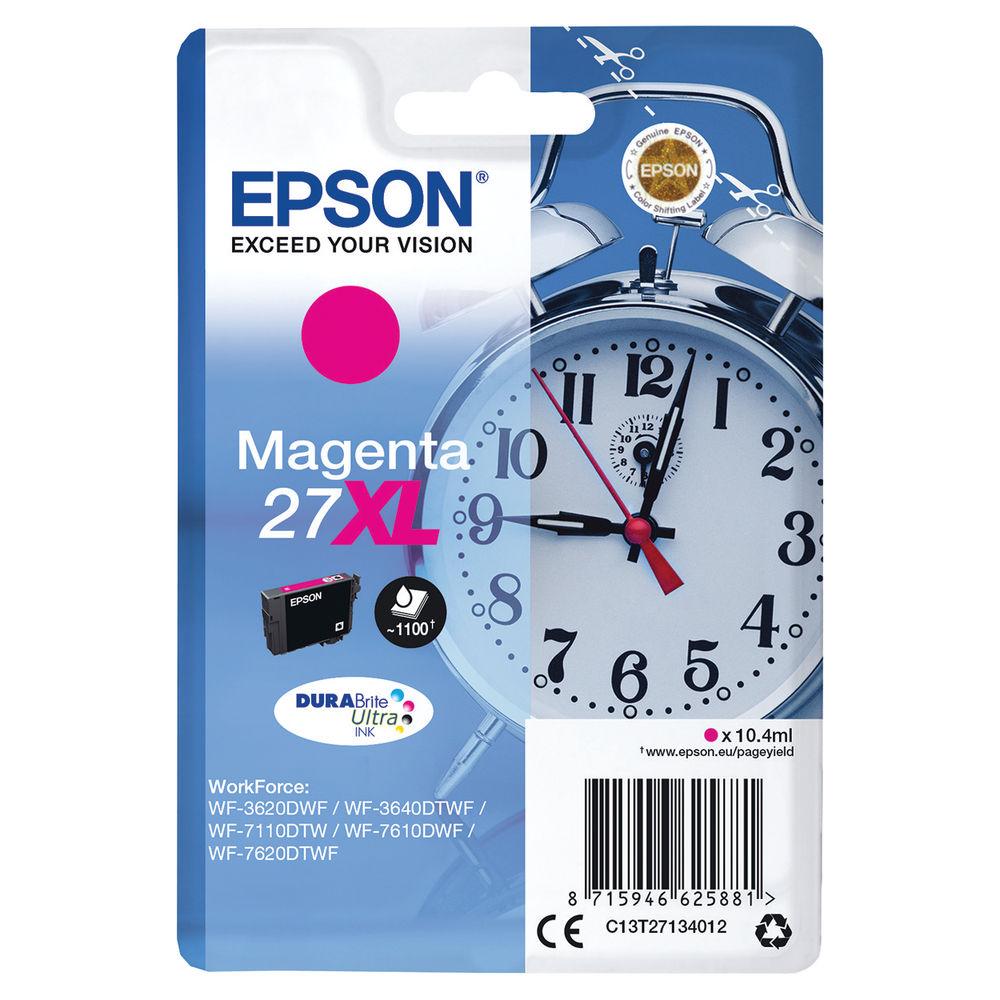 Epson 27XL High Capacity Magenta Ink Cartridge - C13T27134012