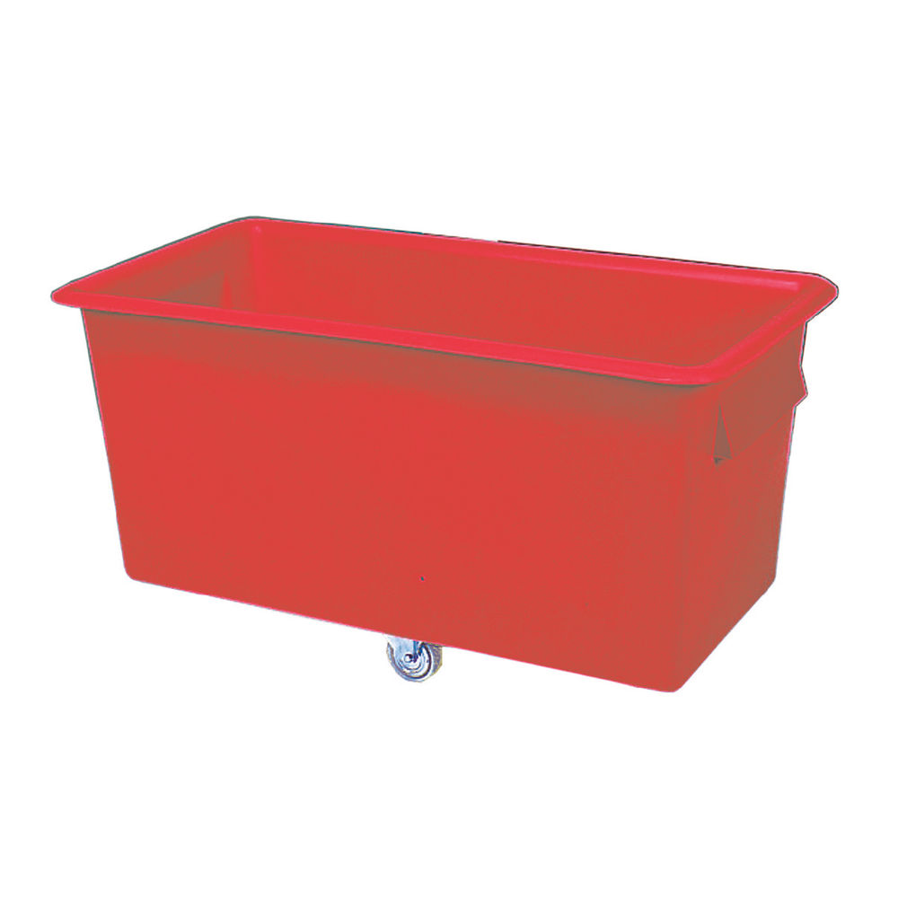 1219 x 610 x 610mm Red Container Truck - 329958