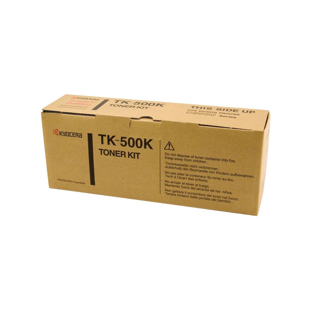 Kyocera FSC5016N Black Toner (8,000 Page Capacity) TK500K