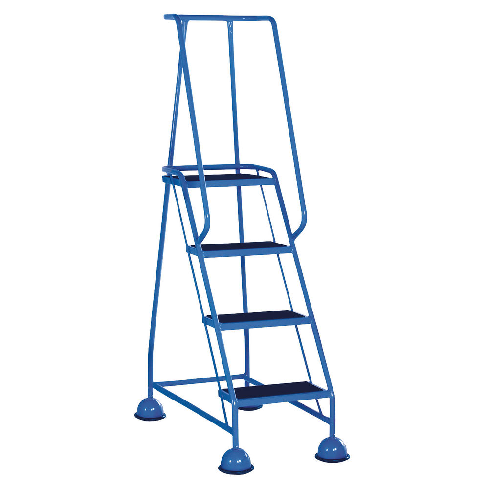 Light Blue 4 Tread Step Ladder - 385138