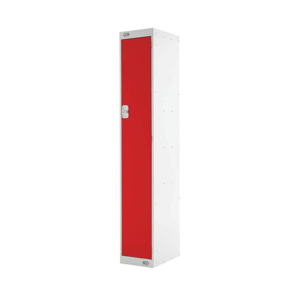 One Compartment D300mm Red Locker - MC00005