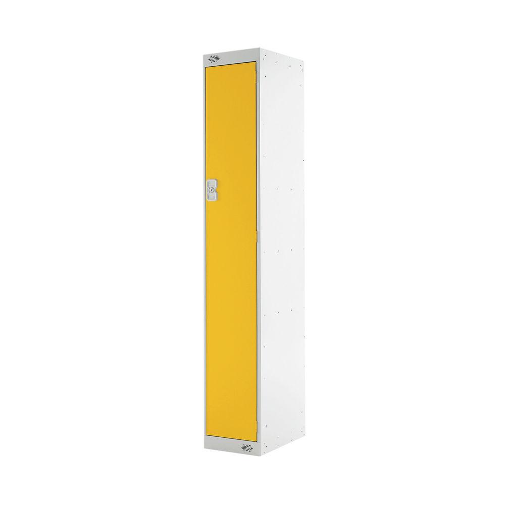 One Compartment D300mm Yellow Locker - MC00006