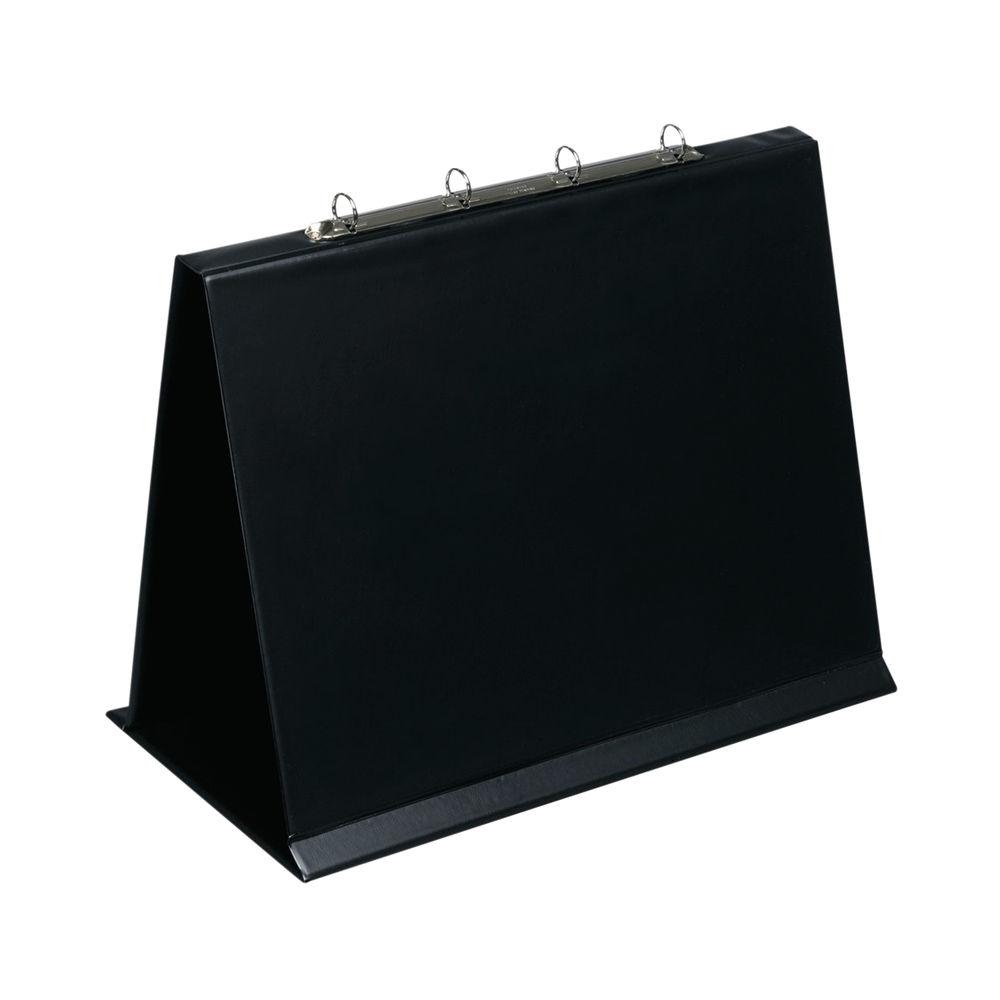 Bantex 30mm 4 Ring Presentation Binder Easel Oblong A3 Black 100080978