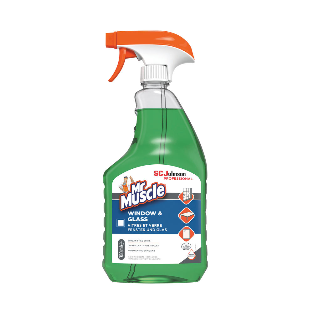 Mr Muscle 750ml Window and Glass Cleaner - 308957