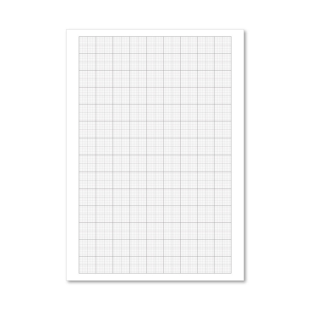 Graph Paper Loose A4 75gsm, Pack of 500 - 100103410