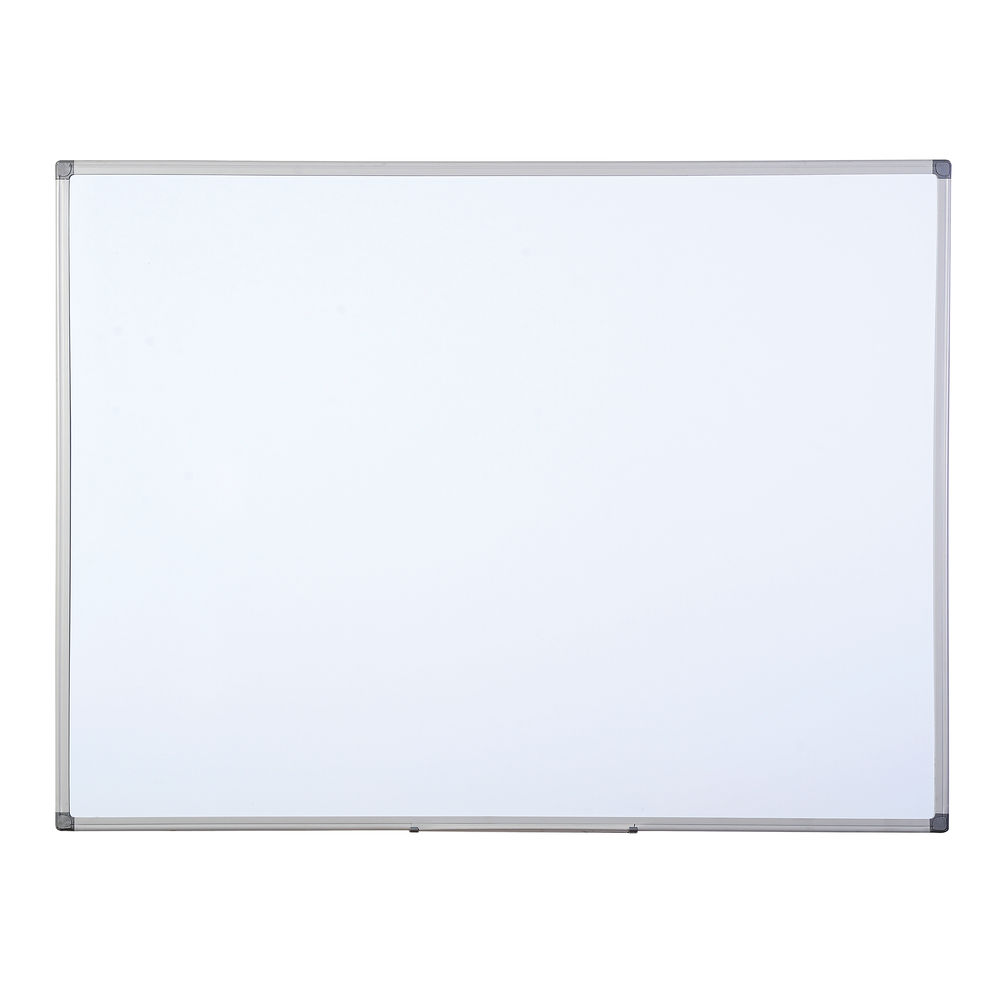 Bi-Office Aluminium Finish Drywipe Board 900x600mm MB0712186