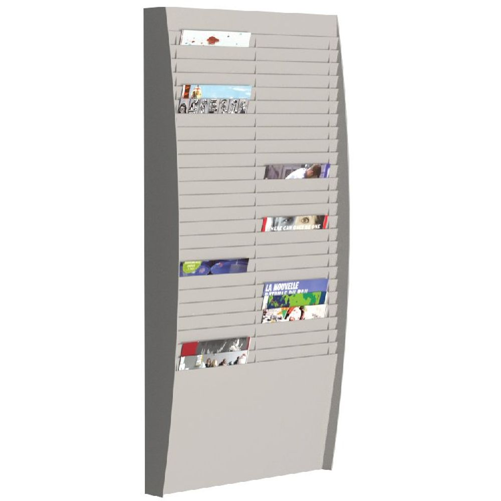 Fast Paper A4 Document Control Panel 50 Compartments Grey V225.02