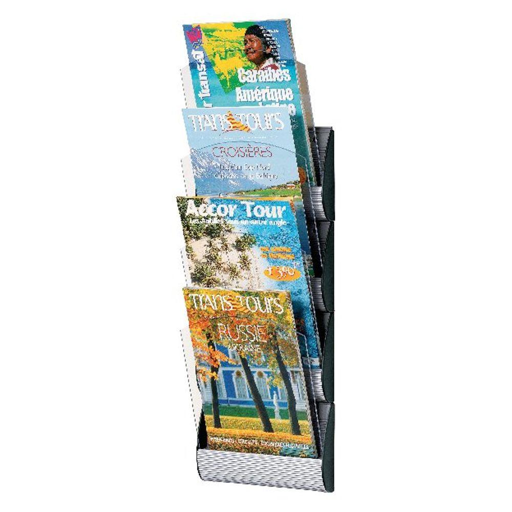 Fast Paper Maxi System Wall Display 4Xa4 Clear Pockets 4064X4.35