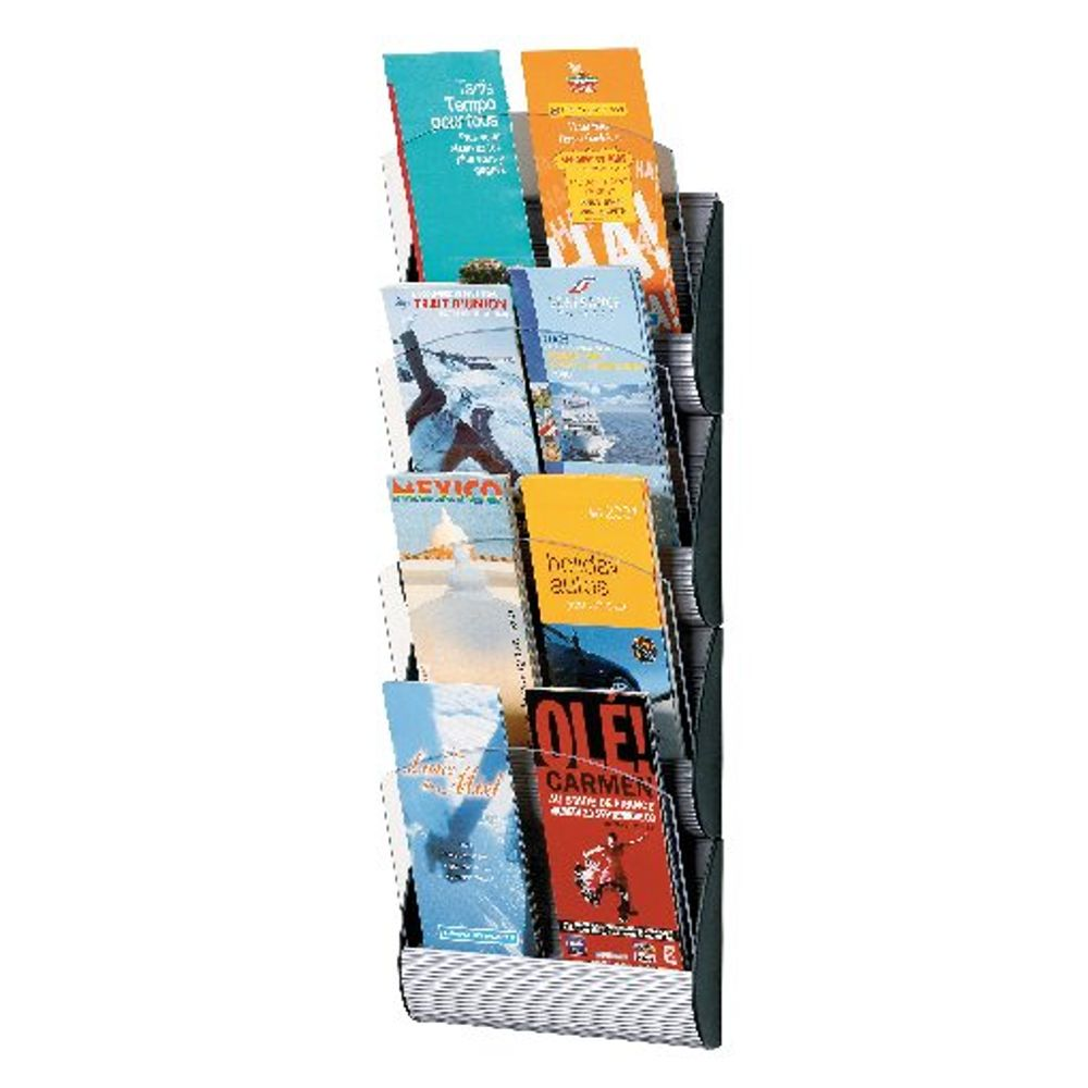 Fast Paper A5 Max Wall Display System (Colour Silver, this is wall mountable) 4065X4.35