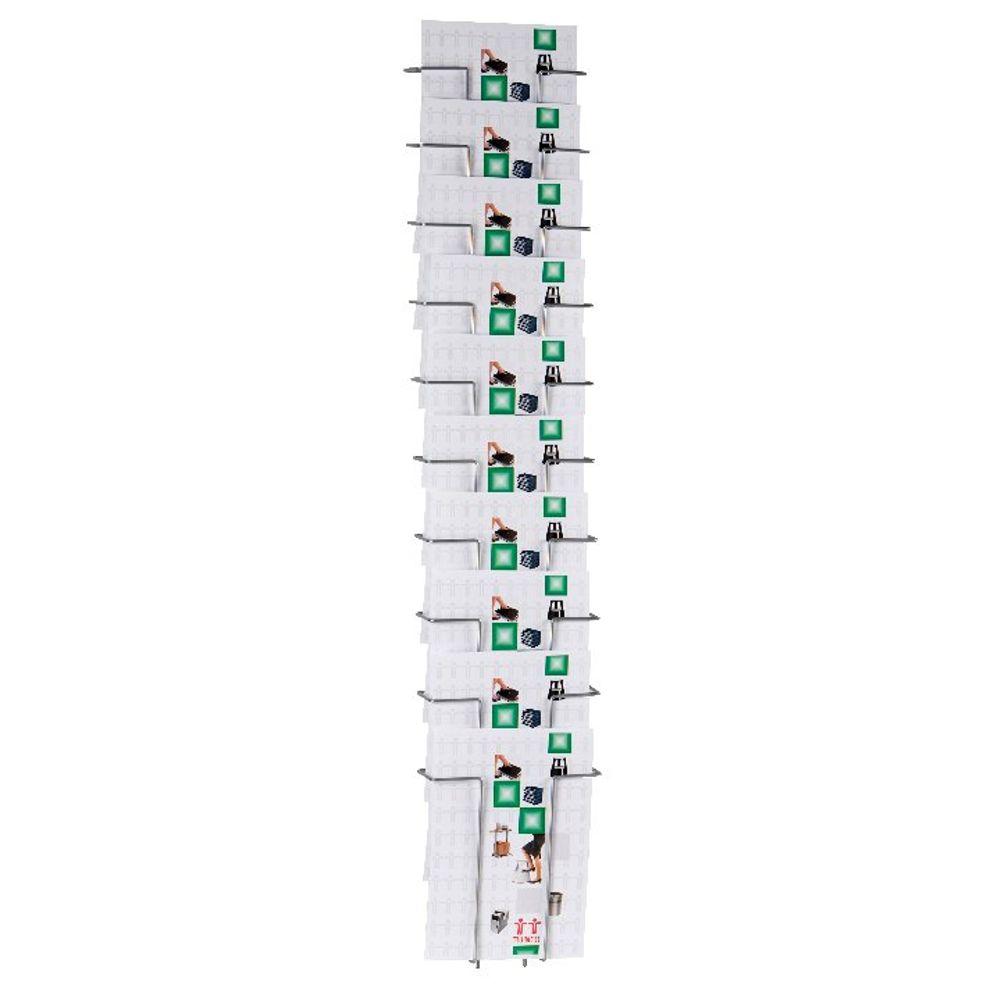 Twinco A4 10 Compartment Literature Holder TW51508