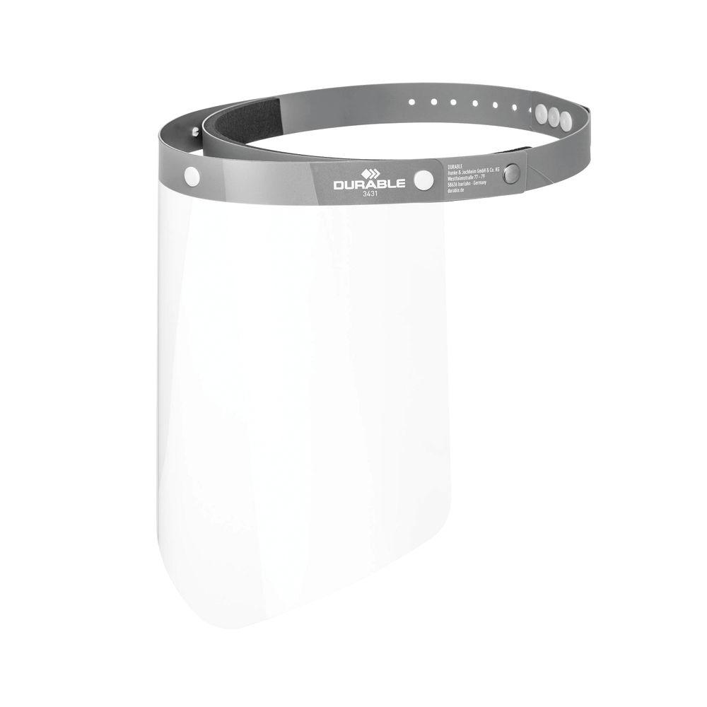 Durable Liftable Face Visor (Pack of 25) 343110