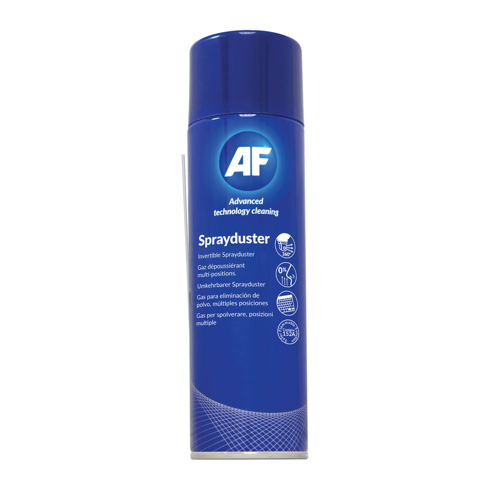AF 250ml Sprayduster Invertible Air Duster - ASDU250D