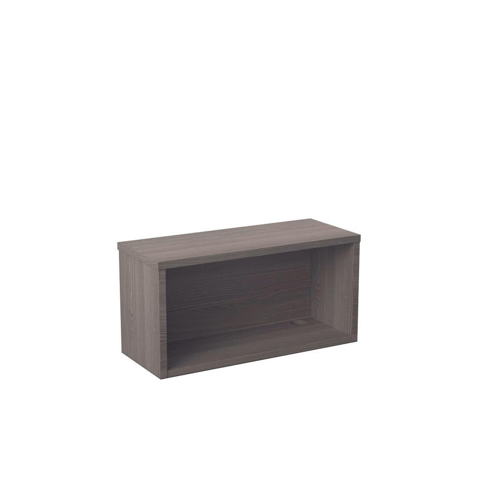 Jemini 800mm Grey Oak Reception Modular Riser Unit