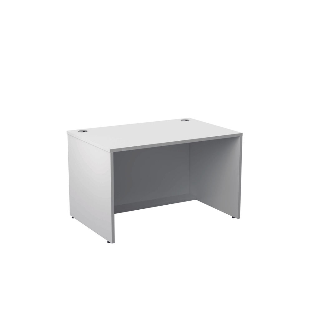 Jemini 1200mm White Reception Modular Desk Unit