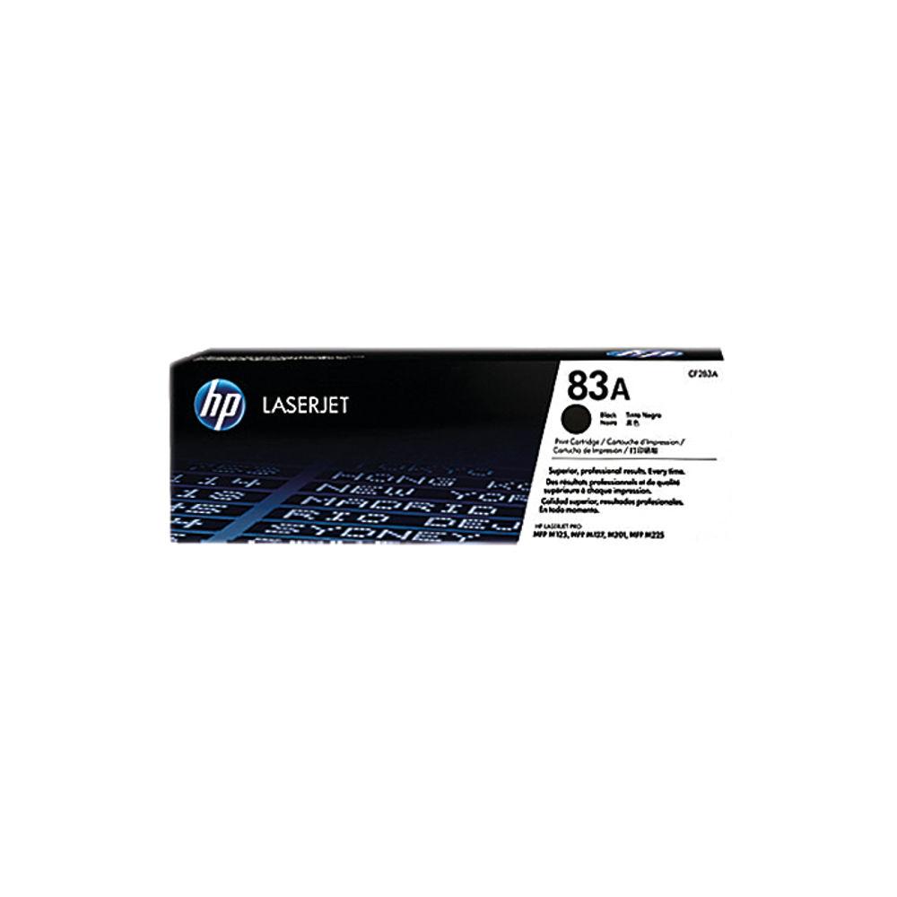 HP 83A Black Toner Cartridge - CF283A