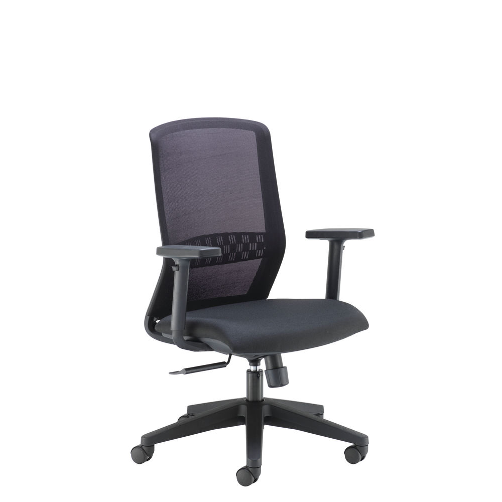 Arista Tekna Black High Back Executive Mesh Office Chair