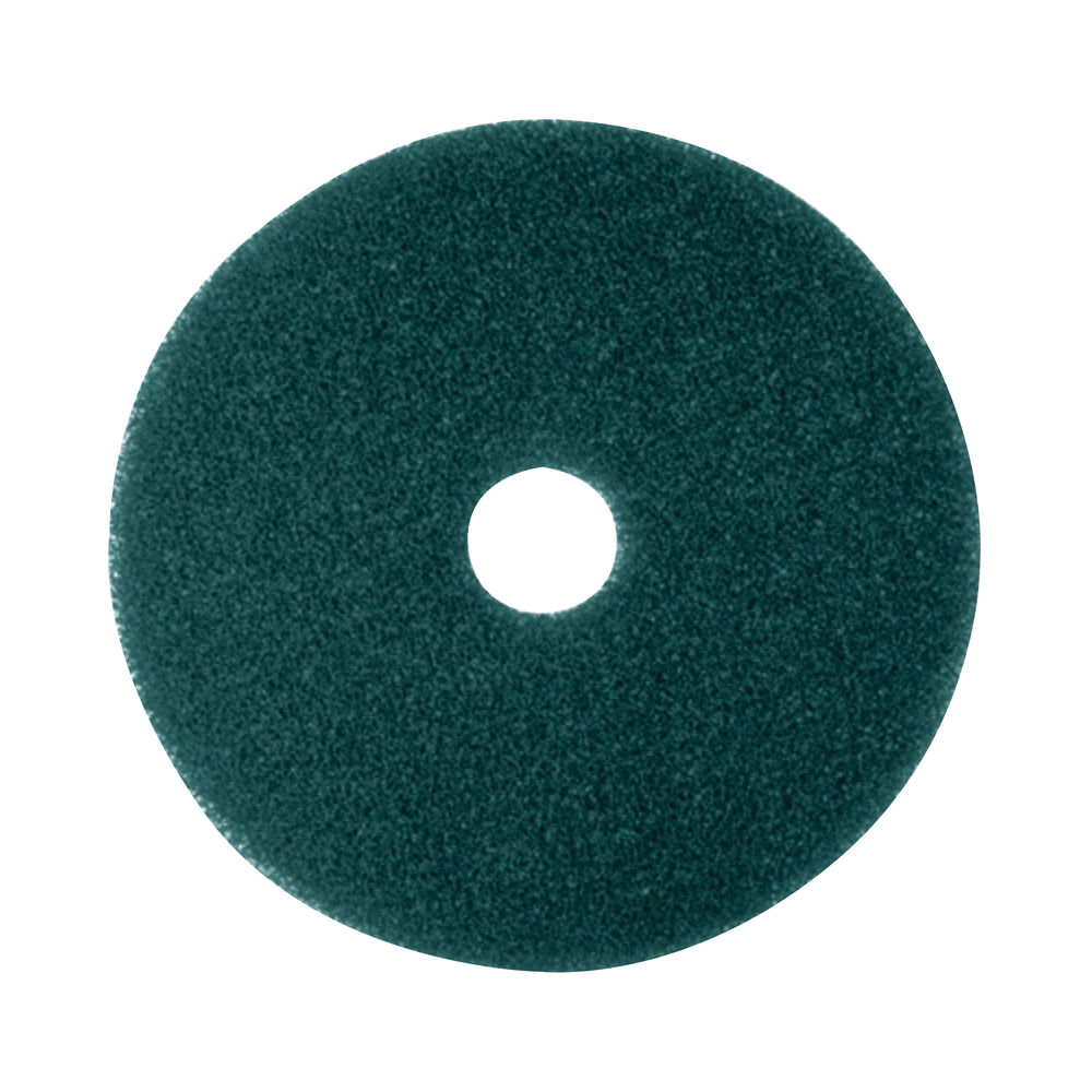 3M 430mm Green Scrubbing Floor Pads, Pack of 5 - 2NDGN17
