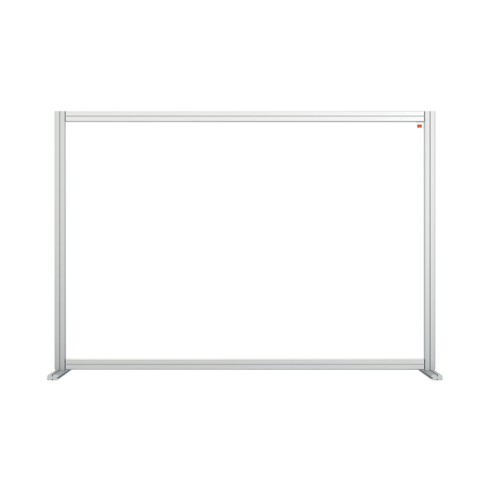 Nobo 1400mm Clear Acrylic Modular Desk Divider
