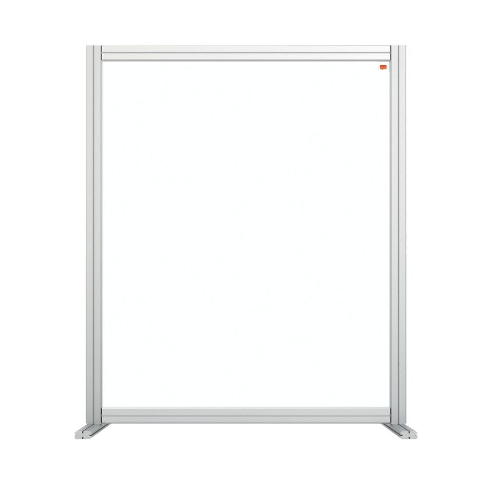 Nobo 800mm Clear Acrylic Modular Desk Divider