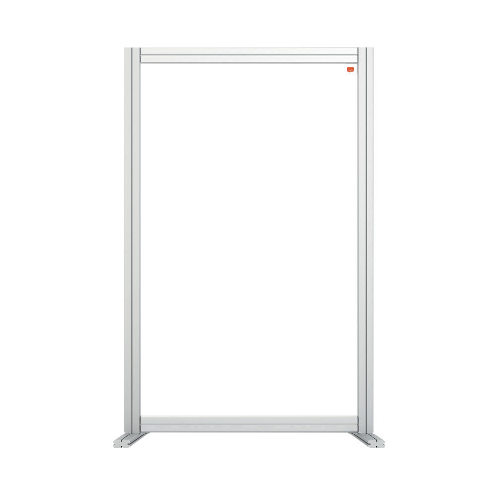 Nobo 600mm Clear Acrylic Modular Desk Divider