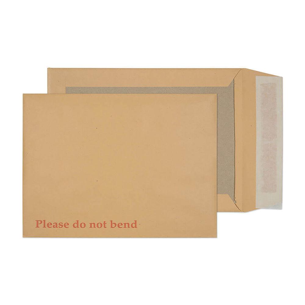 Board Back Pocket Envelope Peel and Seal 241 x 178mm (Pack of 125) 11935