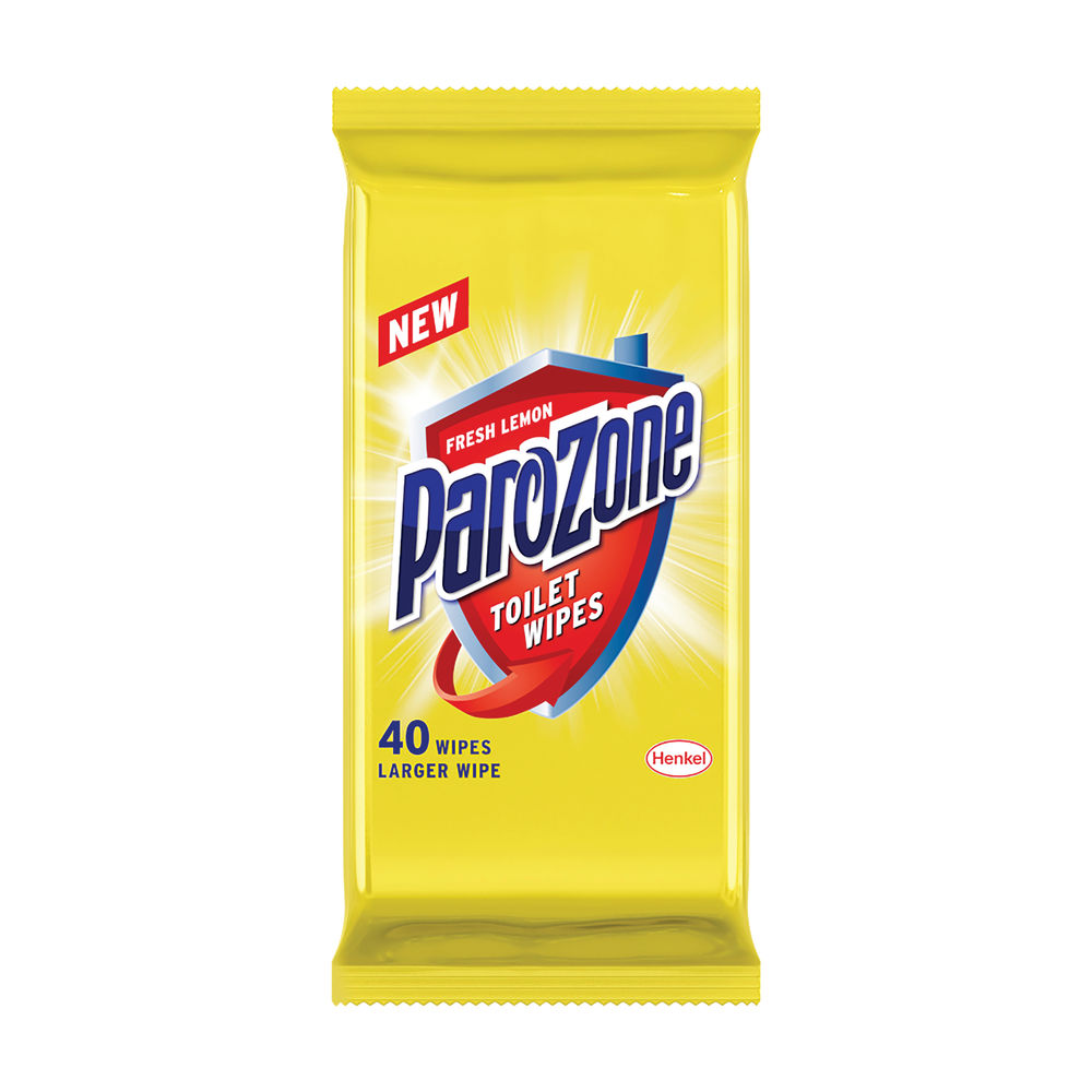 Parozone 40 Sheets Toilet Wipes, Pack of 8 - 706047