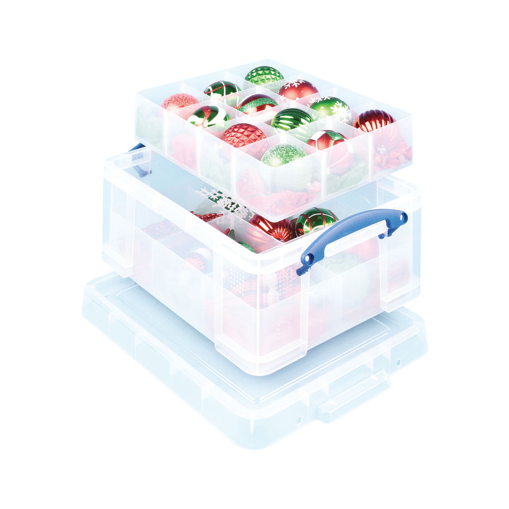 Really Useful 21 Litre Storage Box with Lid - 21C+6T+12T