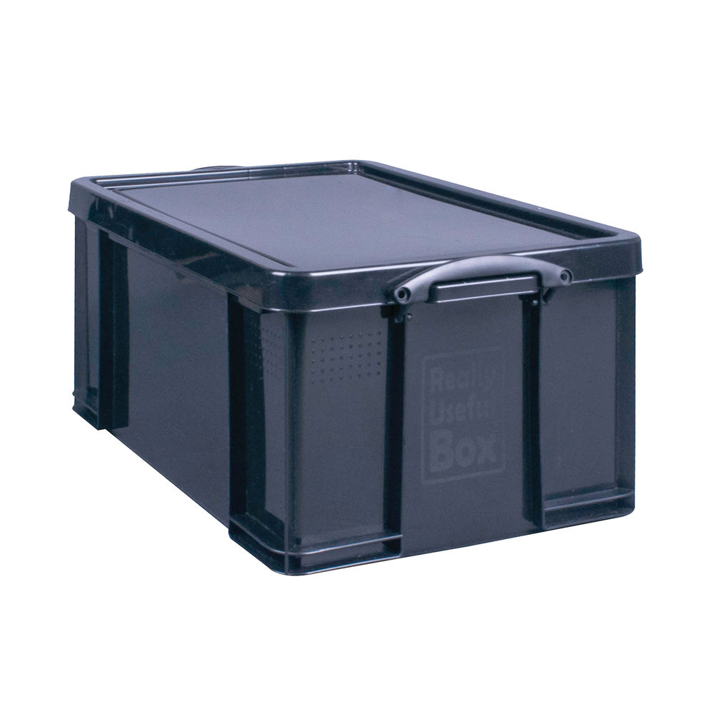 Really Useful 64 Litre Recycled Storage Box | 64BKR