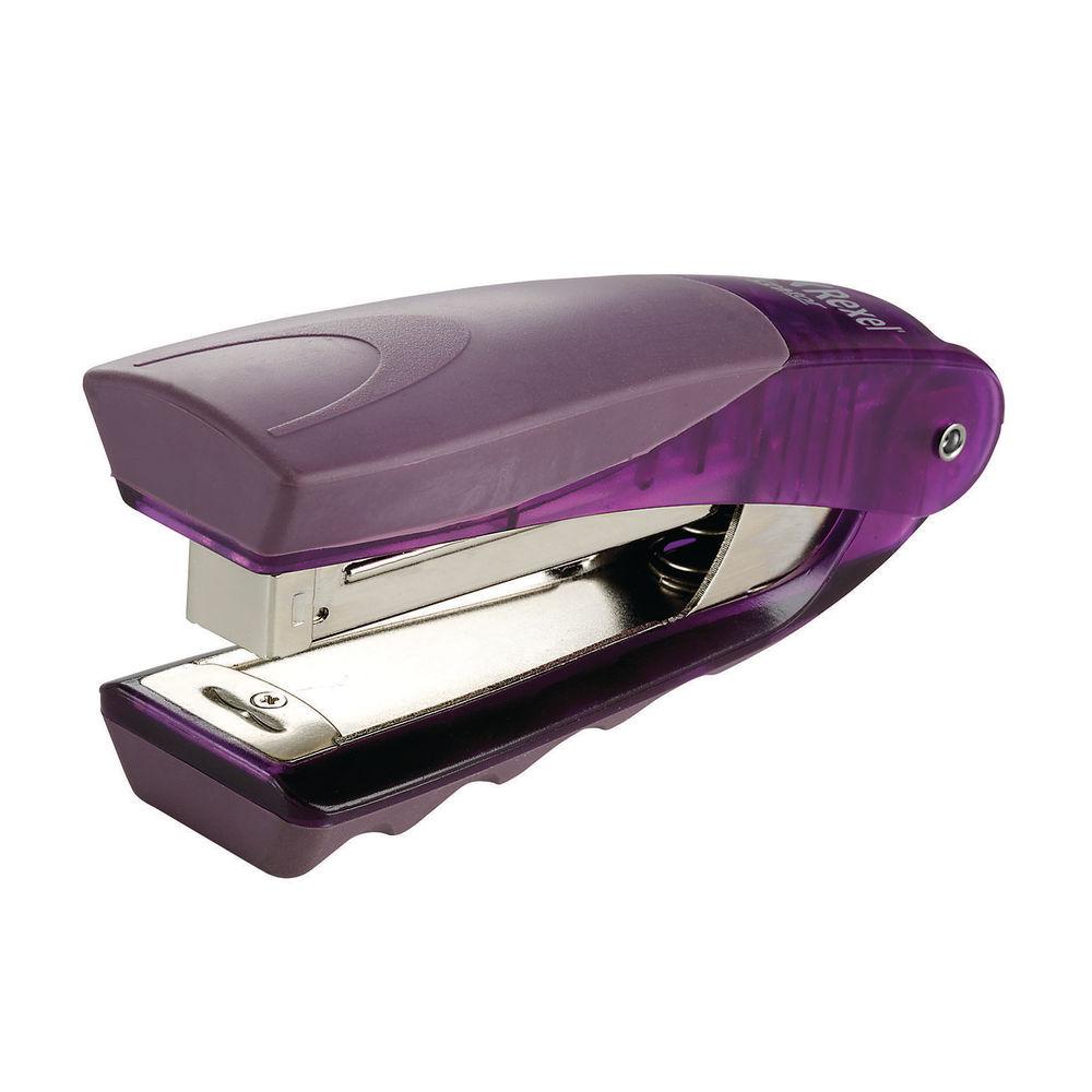 Rexel Centor Stand Up Purple Stapler - 2101014