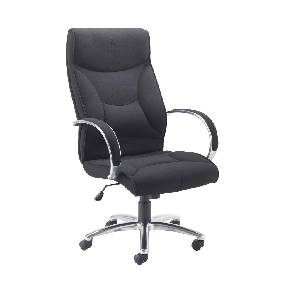 Avior Richmond Black Fabric Executive Office Chair