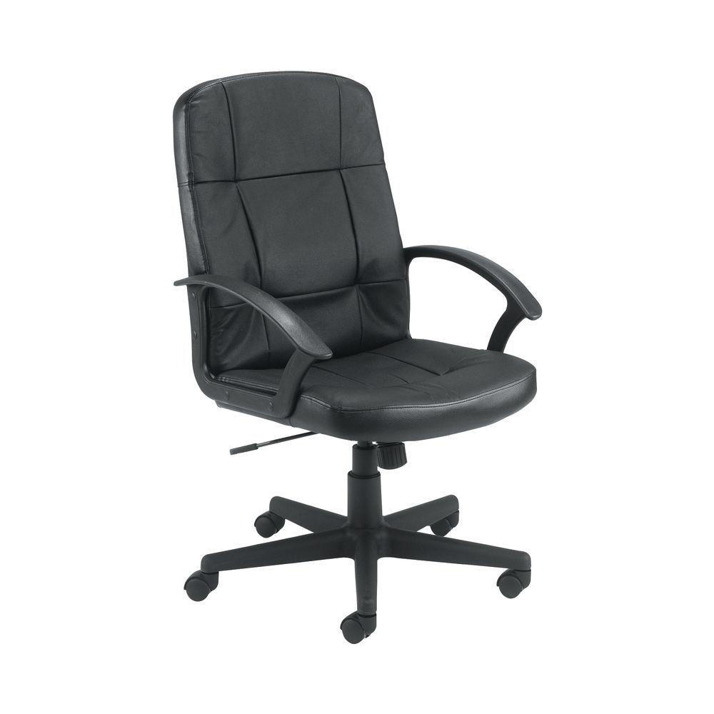 Jemini Thames Black Executive Office Chair