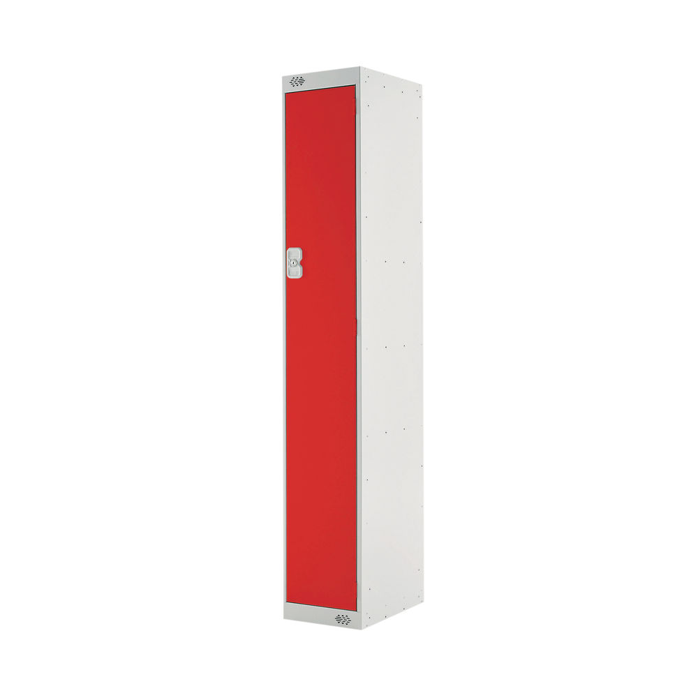 One Compartment D450mm Red Locker - MC00041