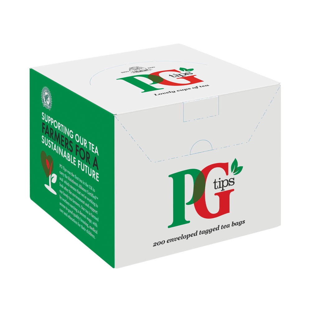 PG Tips Envelope Tea, Pack of 200 - 15919699