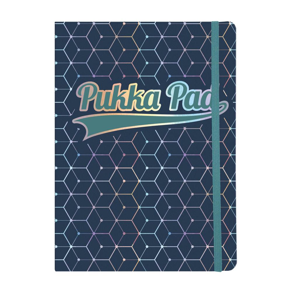 Pukka Glee Dark Blue A5 Journal Pad, Pack of 3 - 8685-GLE