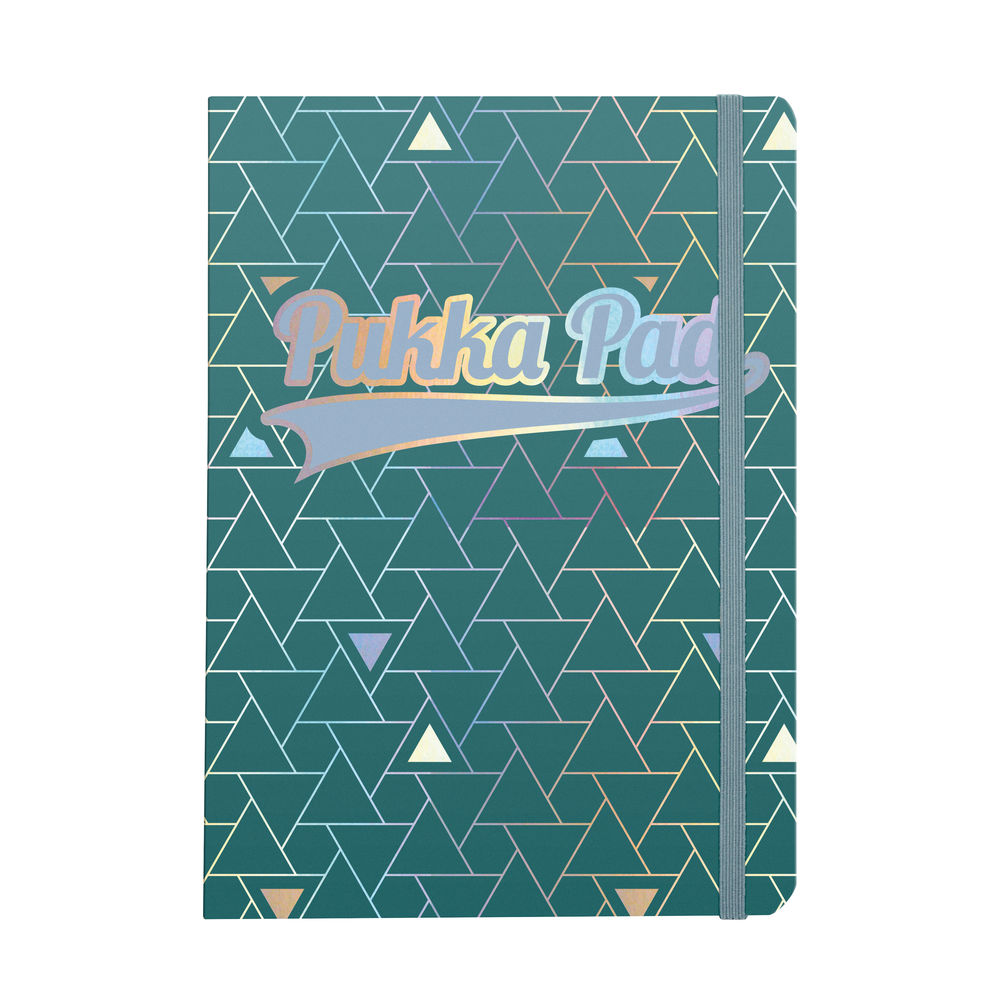 Pukka Pad Glee Journal Pad A5 Green (Pack of 3) 8686-GLE