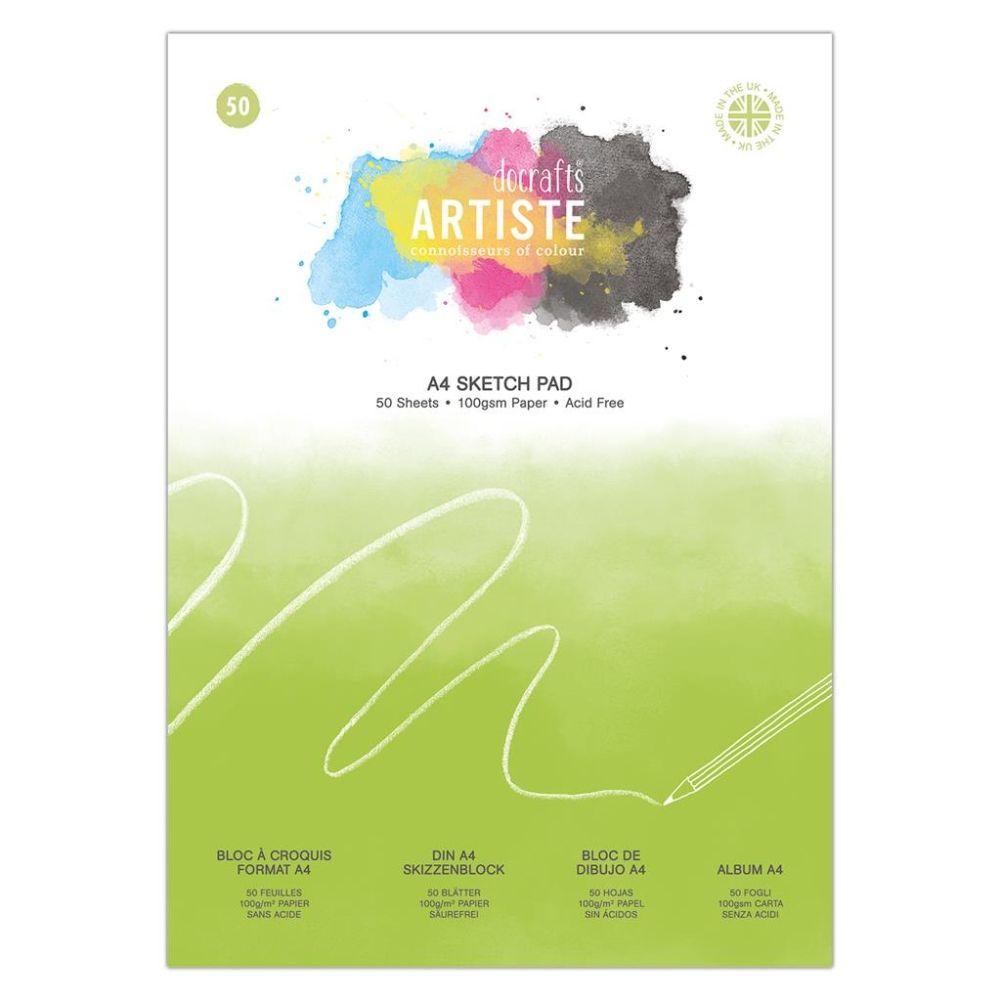 Artiste A4 Sketch Pad – DOA 101109