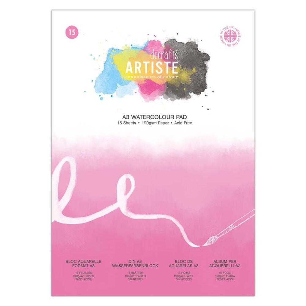 Artiste A3 Watercolour Pad – DOA 101112